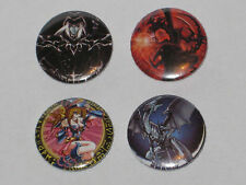 YuGiOh 8 Badges Bundle/Collection: Blue Eyes + Dark Magician + DM Girl +Red Eyes