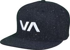 RVCA VA Sport Twill Snapback II Hat (Charcoal) 5388ea00f91a
