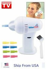 New Electric Cordless Vacuum Ear Cleaner Wax Vac Clean Remover Painlessly Tool
