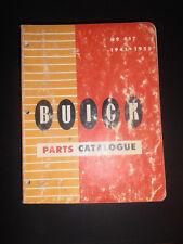 Vintage Buick Parts Catalogue 1946-1955!