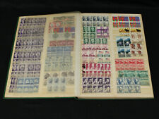 Us & Latin America Fil-i-Safe Stockbook All Used Blocks Argentina Mexico Brazil+