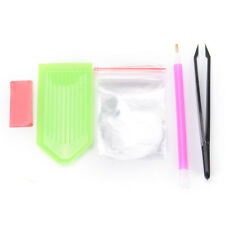 1Set Pencil Rhinestone Nail Manicure Tool Dotter Pencil Paste Wax Dots for Nail@