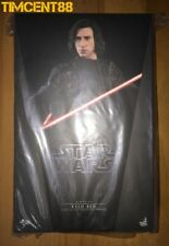 Ready! Hot Toys MMS438 Star Wars The Last Jedi Kylo Ren Adam Driver 1/6 Figure