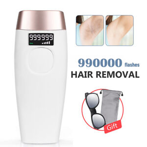 Permanent Laser Hair Removal Device For Women/Men 990000 IPL Flashes Facial Body