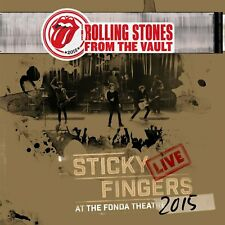 """The Rolling Stones: From The Vault, Sticky Fingers Live (NEW DVD + 3x 12"""" VINYL)"""