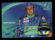 Felipe Massa Autogrammkarte Original Signiert Formel 1 +A 153234