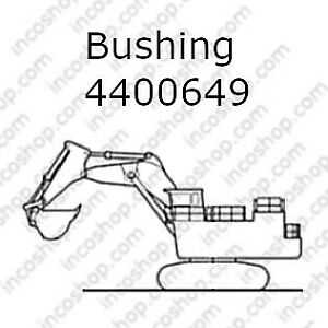 4400649 Bushing, Front & Rear Bucket for Hitachi Excavators