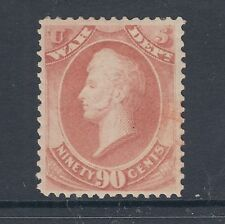 US Sc O93 MLH. 1873 90c Perry War Department Official, F-VF