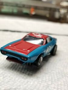 AFX #43 Richard Petty Blue Nose with Red Headlights Magna Sonic
