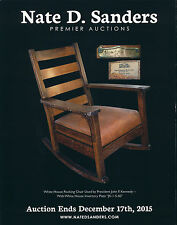 NATE D. SANDERS PREMIER AUCTION - DECEMBER 17TH, 2015 - JOHN F. KENNEDY'S CHAIR