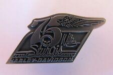 HARLEY DAVIDSON 75TH ANNIVERSARY STURGIS 2015 WILLIE G BIKE WEEK RALLY LTD PIN