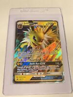 Pokemon JOLTEON GX SM173 PROMO + PSA CARD SAVER 1 MINT FAST SHIPPING 🚚💨