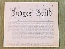 Judges Guild Journal 0 First Print Initial Issue 1976 Dungeons & Dragons