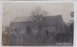 The Church, EYKE, Suffolk RP