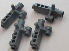 Lego 4 camera gris fonce set 4620 7317 7031 7035 / 4 old dark gray camera NEW