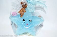 Boy Birthday Candle Baby Shower Cake Topper Smiley Star Bear Blue Party Supply