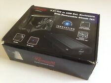 "Rosewill RX355-U Aluminum 3.5"" IDE USB 2.0 External Enclosure with Box"