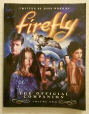 Firefly The Official Companion Volume Two 2 Book Serenity Movie Tv Series