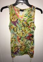 Girl's Paper Doll Tank Top with Tie Back Size Large 12/14