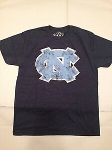 North Carolina Tar Heels NCAA Weathered Logo Navy, X-Large