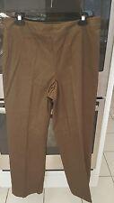 Ellen Tracy Size 12 Casual Brown Pants