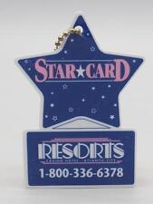 Starcard Resorts Casino Hotel Atlantic City Casino VIP Key Ring Fob
