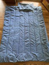 As Is Ralph Lauren Windward Twin Denim Comforter Bedspread VTG Flag Label Rare