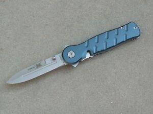 SCHRADE X-TIMER BLUE Taschenmesser Klappmesser Einhandmesser Aluminium blau