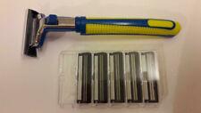 Rasierer + Rasierklingen kompatibel mit  Gillette Contour + Contour plus  -neu-