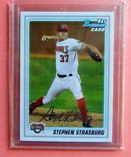 2010 Bowman Stephen Strasburg Bowman Prospects Rookie #BP1