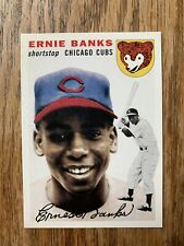 2019 TOPPS SERIES 2 - ICONIC CARD REPRINTS - ERNIE BANKS (ICR-62)