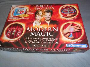 Zauberkasten - Clementoni 59050 - Ehrlich Brothers - Modern Magic - neuwertig