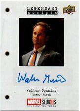 2018 Marvel Studios First Ten Years Autograph Walton Goggins as Sonny Burch Lsgw