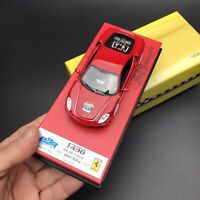 New 1/43 BBR Ferrari F430 Coupe Car Model 60th Reply Milan Stage 2007 Red LE20