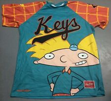 Frederick Keys Hey Arnold Game Used #0 Jersey Size 48 Nickelodeon MILB Nick TV