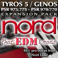 Nord Lead - Expansion Pack for Yamaha Arrangers (Genos, Tyros 5, PSR 975 etc)