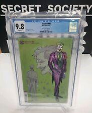 Batman #95 CGC 9.8 (DC 2020) Incentive Jimenez 1:25 Joker Design Variant