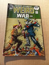 Weird War Tales 18   . Mark Jewelers insert -DC 1973  - FN
