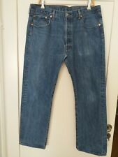 Levis 501 red tab button fly man jeans W38 L29