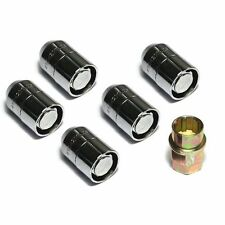 Rugged Ridge Wheel Locks 5 Piece1/2-20 Chrome Jeep Cj Yj Tj Jk Wrangler X16715.2