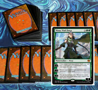 mtg GREEN NISSA DECK Magic the Gathering rares 60 cards gigantosaurus arbor elf