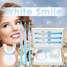 EZGO White Smile 22%CP Teeth Whitening Kit 3 Gel+LED light+Tray +Shade guide