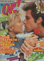 Magazine OK ! n° 427 Johnny Hallyday Michael Jackson Lahaye Olivia Newton John