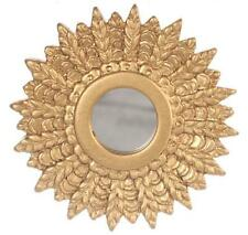 Dolls House Giltwood 1950's Sunburst Mirror Miniature 1:12 Scale Accessory
