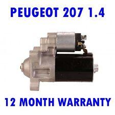 FITS PEUGEOT 207 1.4 1.6 2006 2007 2008 2009 2010 2011 2012 - 2015 STARTER MOTOR