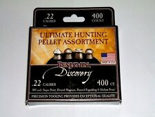 BENJAMIN DISCOVERY .22 CALIBER ULTIMATE HUNTING PELLET ASSORTMENT 400 Count USA