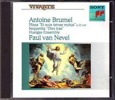 Antoine BRUMEL Missa Et ecce terrae motus HUELGAS ENSEMBLE Paul van NEVEL CD