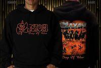 SAXON-Dogs of War-Heavy metal-Judas Priest-Accept, Hoodie-sizes:S to XXL