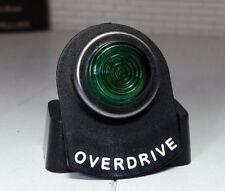 Kit de coche Vintage Clásico Iluminado Led Luz Pestaña de Etiqueta de Advertencia Verde Overdrive