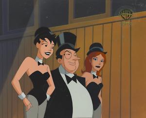 New Batman Adventures- Original Production Cel/OBG- Penguin and Ladies